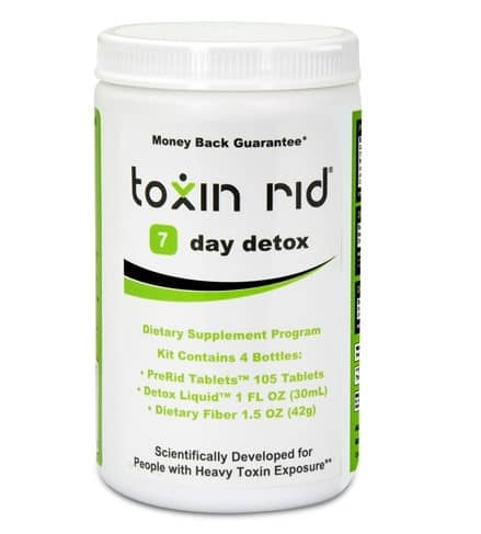 toxin rid 7 day detox program